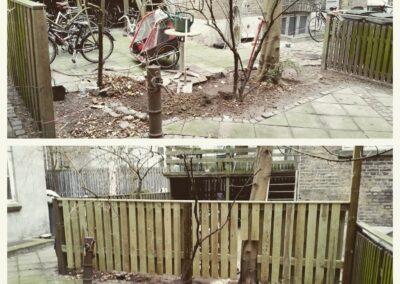 kreativ etablering af hegn hos la Cour Byg
