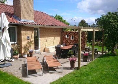 Ny terrasse i Nordsjælland